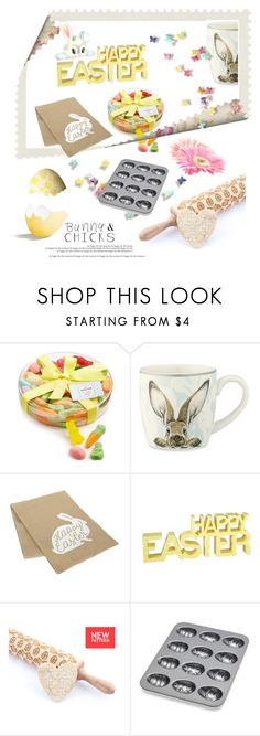 """Happy Easter"" by fl4u ❤ liked on Polyvore featuring interior, interiors, interior design, home, home decor, interior decorating, The Hampton Popcorn Company, Williams-Sonoma, Nordic Ware and Easter"