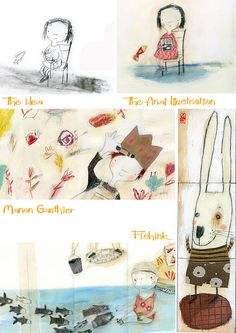Manon Gauthier. Illustrator. Check out my blog ramblings and arty chat here www.fishinkblog.w... and my stationery here www.fishink.co.uk , illustration here www.fishink.etsy.com and here http://www.fishink.carbonmade.com/projects/4182518#1 Happy Pinning ! :)