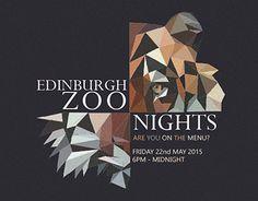 "Check out new work on my @Behance portfolio: ""Edinburgh Zoo Night's Advertisement"" http://on.be.net/1LOMJRy"