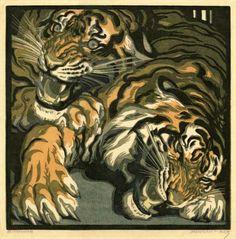 Norbertine von Bresslern-Roth zwei tiger