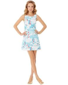 5761e9bff35 LILLY PULITZER - DELIA SHIFT Preppy Outfits