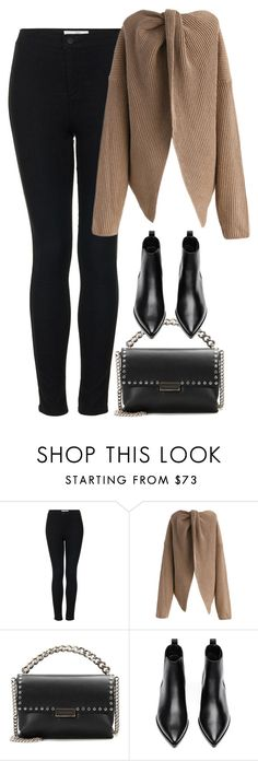 """""""Sans titre #961"""" by nicolaisbae ❤ liked on Polyvore featuring Topshop, Chicwish, STELLA McCARTNEY and Acne Studios"""