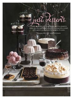 Donna Hay Magazine : just desserts, she's really something..............