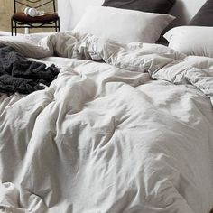 """""""Cotton White Bedding in a Bag 