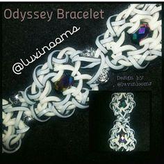 Odyssey Bracelet by @luvinlooms on instagram