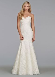 Top Wedding Dress Trends for 2014 Fit & Flare Silhouette - Tara Keely