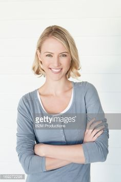 Stock-Foto : Portrait Of Happy Young Woman