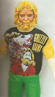 Dan Haggerty as Grizzly Adams Halloween Costume, 1970's