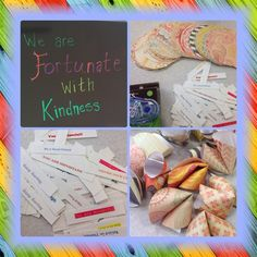 To celebrate Random Acts Of Kindness Week, my Lunch Bunch groups decided to spread kindness to all our teacher on campus.        As they ...