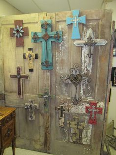 The ever-so-popular crosses. These sell fast. Had 13 on Tuesday morning and now have 7!