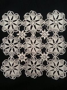 Needle Lace Salon Kit Models 46 - My Recommendations Needle Tatting, Needle Lace, Crochet Leaves, Thread Crochet, Crochet Tablecloth, Crochet Doilies, Crochet Home, Free Crochet, Crochet Motif Patterns