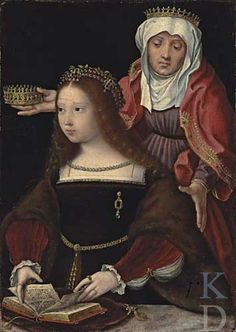 Anonymous Southern Netherlands (historical region) St. Elizabeth of Hungary founder, ca 1520