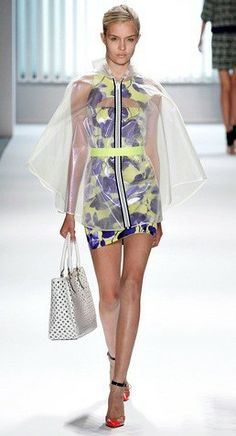 The floral #mini #dress, by contemporary #designers Milly