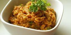 Nátierka z červenej šošovice Risotto, Food And Drink, Ethnic Recipes