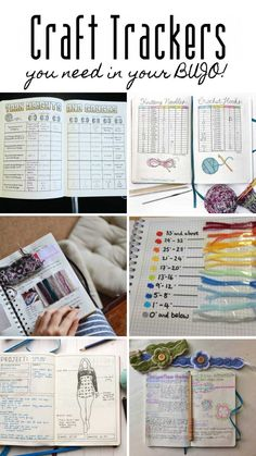 25 Craft Bullet Journal Ideas to Help You Keep Track of Your Creative Projects Looking for craft journal ideas? Find out how to keep track of sewing, knitting, crochet and more w Bullet Journal Tracker, Bullet Journal Ideas Pages, Bullet Journal Layout, Bullet Journal Inspiration, Knitting Projects, Craft Projects, Sewing Projects, Project Ideas, Bullet Journal Knitting