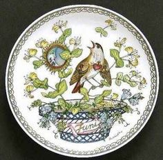 JUNE Hutschenreuther collector plate 1978