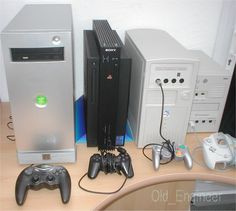 Development systems for the Xbox PS2 Gamecube and Dreamcast.