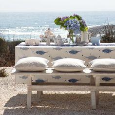 Garten Terrasse Wohnideen Möbel Dekoration Decoration Living Idea Interiors home garden - Küsten inspirierte Mahlzeiten im Freien