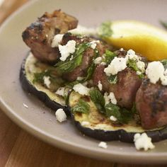 Grilled Lamb with Eggplant, Mint, and Feta Recipe on Food52 recipe on Food52