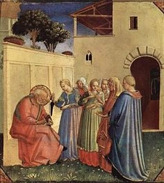 Fra Angelico - El nombre de San Juan Bautista (1434-1435)