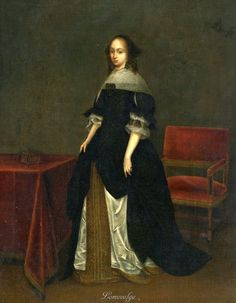 Герард Терборх (Gerard Terborch, 1617-1681, Dutch artist). Attributed to Gerard ter Borch PORTRAIT OF A LADY