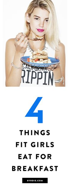 4 things fit girls always have for breakfast
