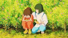Studio Ghibli Films, Studio Ghibli Art, Studio Ghibli Spirited Away, Spirited Away Anime, Hayao Miyazaki, Spirited Away Wallpaper, The Garden Of Words, Chihiro Y Haku, Castle In The Sky