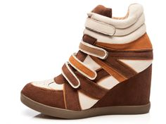 Wedge sneakers #Index #RutaUrbana #MefascinaRipley