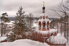Savvino-Storozhevsky Monastery in Zvenigorod, Venäjä - Звенигород. Саввино-Сторожевский монастырь