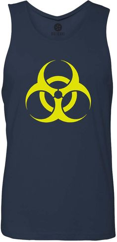 BioHazard (Yellow) Tank-Top T-Shirt
