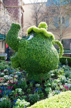 Disney Topiaries by Dave-T, via Flickr