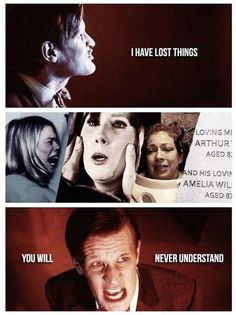 Eleven's speech at the Ring of Akhaten river song Donna Rose Amy Rory 11