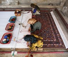 """""""Little by little the wool becomes a carpet"""" Persian Proverb"""