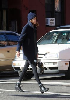 Alexa Chung looking #toquecute. Similar styles now on sale at Aritzia.com.