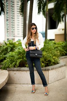Denim Overalls | The Girl from Panama
