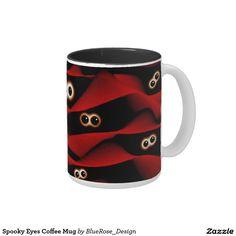Spooky Eyes Coffee Mug