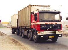 Van Rumpt - Nostalgische Transportfoto's uit Zuid-Holland | ZWN Transport Truck Art, Volvo Trucks, Old Tractors, Van, Vehicles, Classic Trucks, Old Trucks, Commercial Vehicle, Photograph Album