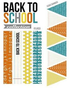 More back to school printables. Thinking this would be cute in a scrapbook too.