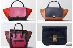 Celine Fall 2014 Bag Collection