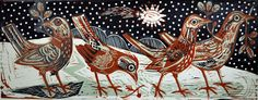 At the First Fall of Snow by Mark Hearld