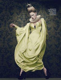 Vogue Russia Photo Shoot by Sharif Hamza - Jean Paul Gaultier