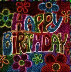 Happy Birthday Hippie, Happy Birthday Emoji, Happy Birthday Wishes Cards, Happy Birthday Celebration, Birthday Blessings, Happy Birthday Images, Birthday Love, Birthday Memes, Happy Birthdays