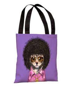 Take a look at this Disco Tote Bag by OneBellaCasa on #zulily today!
