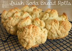 Pull-Apart Irish Soda Bread Rolls were yummy and easy to make- they're a great no-yeast bread!  @Allrecipes