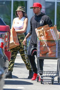 Kylie Jenner goes makeup-free for outing with Tyga -- is she still cute?
