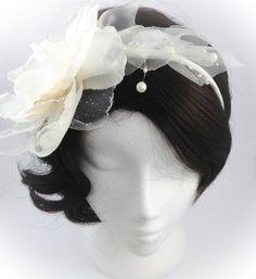 wedding headband  bridle head piece wedding by AnitaHiltonweddings, £29.00