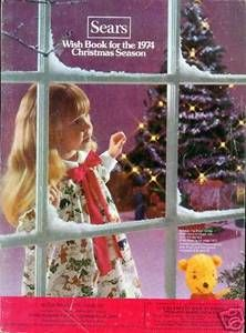 1974 Sears Christmas Wish Book - my first year working in Sears' Buying Office in NYC