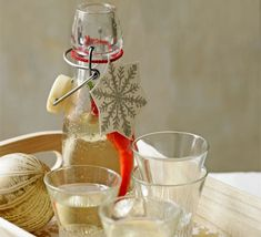 This fun gift takes just a few minutes to prepare, perfect for adding some kick to a Bloody Mary, or just enjoying over ice