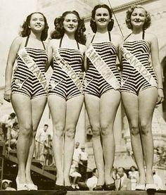 Miss America 1947, Barbara Jo Walker (third from left)