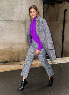 Olivia Palermo is seen arriving to Tibi fashion show during New York Fashion Week at 30 Wall Street on September 9 2018 in New York City New York Fashion, Star Fashion, Look Fashion, Fashion Outfits, Fashion Trends, Fashion 2018, New Yorker Street Style, Daily Street Style, Olivia Palermo Street Style
